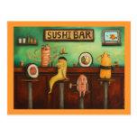 Sushi Bar Postcard