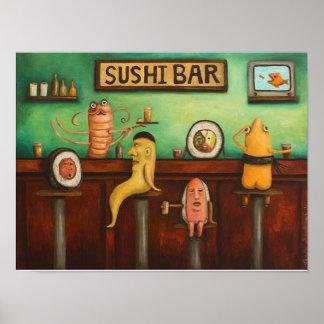 Sushi Bar Print