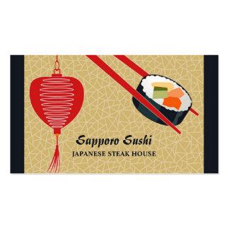 Sushi Bar Restaurant Business Card