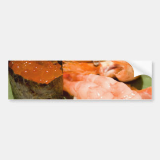 Sushi. Bumper Sticker