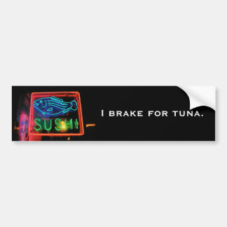 Sushi Bumper Sticker