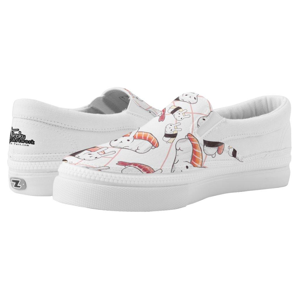 Sushi Bunny Slip Ons
