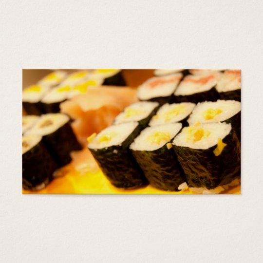 Sushi. Business Card