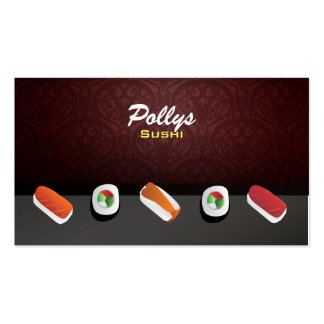 Sushi Business Cards