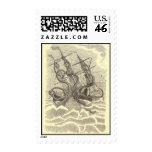 Sushi by the Sea Postage Stamps
