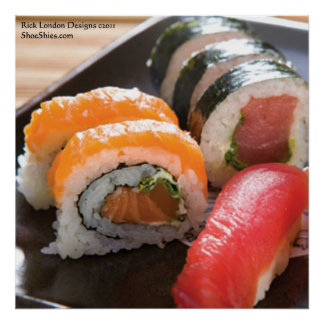 Sushi & Ca Roll Fine Art Poster Prints Posters
