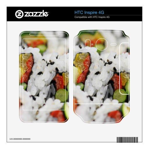 Sushi Calcomanías Para HTC Inspire 4G