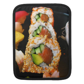 Sushi California roll sashimi photo iPad sleeve