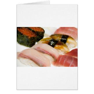 Sushi. Card