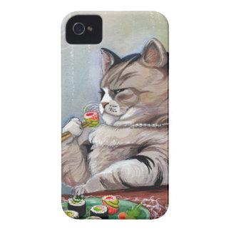 Sushi Cat Fancy Feast Case-Mate iPhone 4 Case