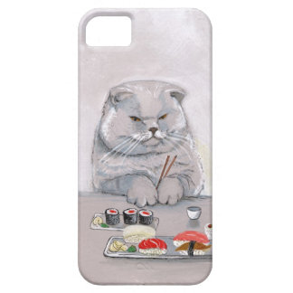 Sushi Cat Grumps iPhone SE/5/5s Case