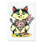 Sushi Cat Invitation