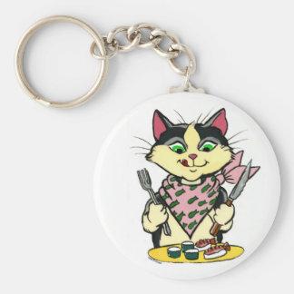 Sushi Cat Keychain