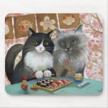 Sushi Cat Lovely Pair Mouse Pad
