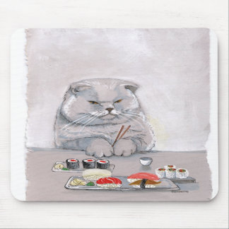 Sushi Cat Mousepad