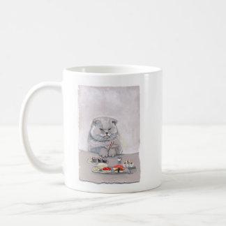 Sushi Cat Mr. Grumps ©CSiravo Coffee Mug