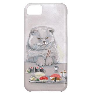 Sushi Cat Mr. Grumps ©CSiravo Cover For iPhone 5C