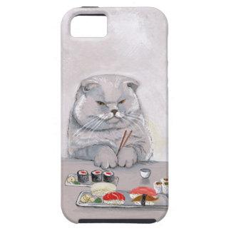 Sushi Cat Mr. Grumps ©CSiravo iPhone SE/5/5s Case