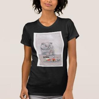Sushi Cat Mr. Grumps ©CSiravo T-Shirt