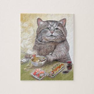 Sushi Cat Tempura Udon Jigsaw Puzzle