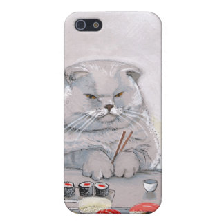 Sushi Cat - The Grump iPhone SE/5/5s Cover