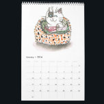 """Sushi Cats Calendar<br><div class=""""desc"""">12 months of adorable cats dressed up as sushi!</div>"""