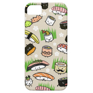 Sushi Characters Pattern iPhone SE/5/5s Case