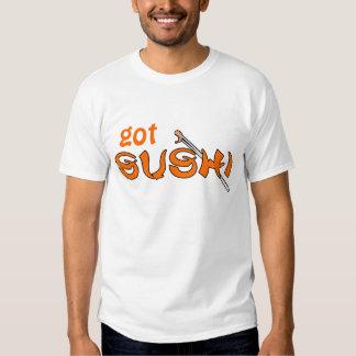 sushi conseguido playera