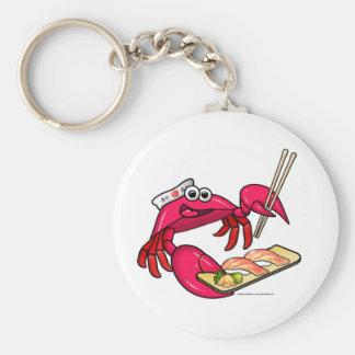Sushi Crab Key Chain