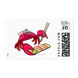 Sushi Crab Postage