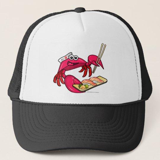Sushi Crab Trucker Hat