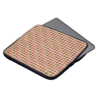 SUSHI CUBE [type 01] Laptop-Sleeve/sushi handle Computer Sleeve