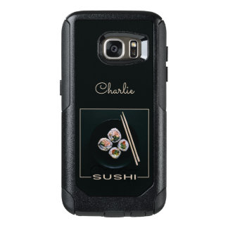Sushi custom name phone cases