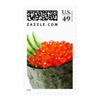 Sushi de Ikura (hueva de color salmón) Gunkan Maki Franqueo