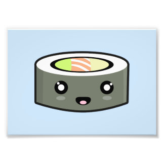 Sushi de Kawaii Fotografía