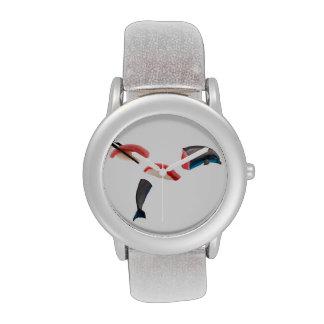 Sushi del delfín relojes de mano
