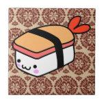 sushi del kawaii en el papel pintado
