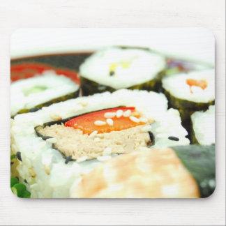 Sushi design mouse pad
