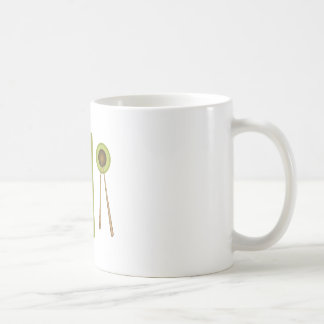 Sushi Dinner Classic White Coffee Mug
