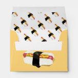 Sushi Dog Envelopes