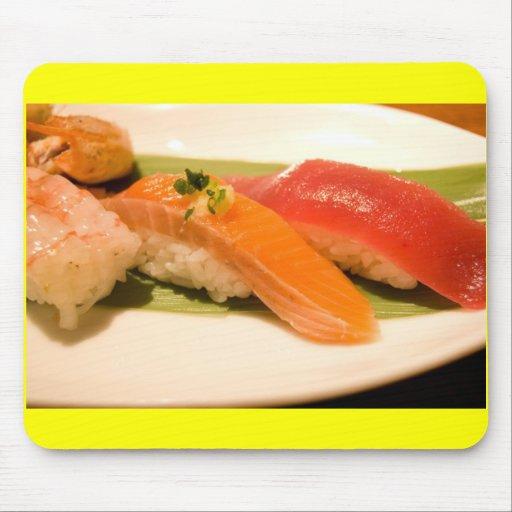 Sushi en Japón Alfombrilla De Ratón