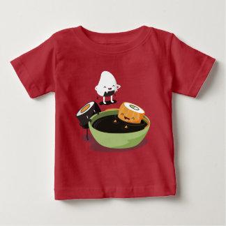 Sushi enjoy bath time funny baby T-Shirt