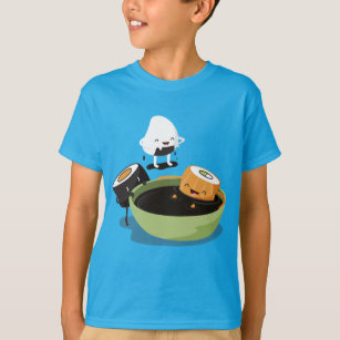 Sushi enjoy bath time funny T-Shirt