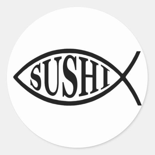 Sushi Fish Sticker