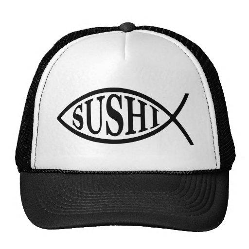 Sushi Fish Trucker Hats