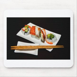 Sushi Food Restaurant Eat Exotic Meals Fast Food Mousepads