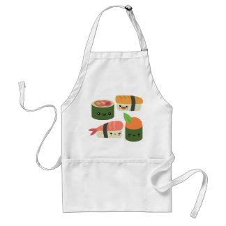 Sushi Friends Adult Apron