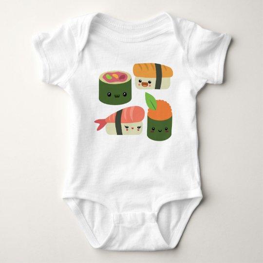Sushi Friends Baby Bodysuit