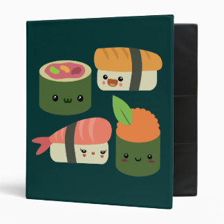 Sushi Friends Binder