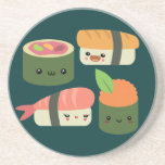 Sushi Friends Drink Coaster
